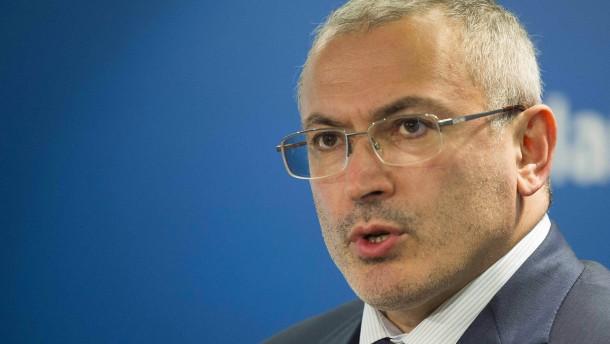 Kremlkritiker Chodorkowskij erwägt Asyl in Großbritannien