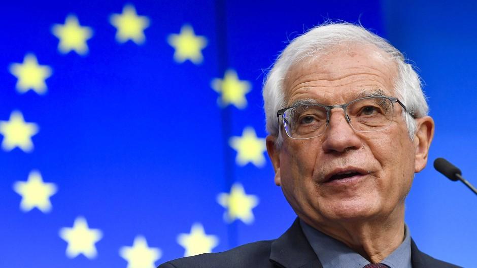Der EU-Außenbeauftragte Josep Borrell zielt mit der Indo-Pazifik-Strategie nicht nur, aber vor allen Dingen auf China.