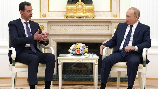 Putin kritisiert ausländische Streitkräfte in Syrien