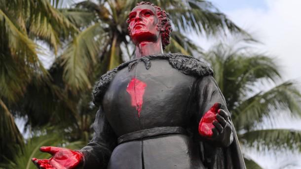 Kolumbus bleibt italienischer Lokalheld