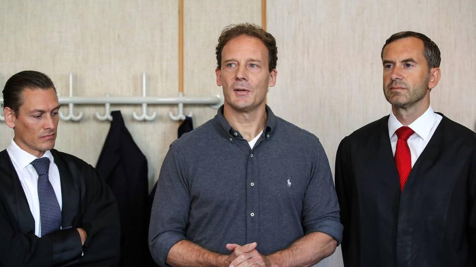 Wird verdächtigt einen Mordauftrag erteilt zu haben: Unternehmer Alexander Falk