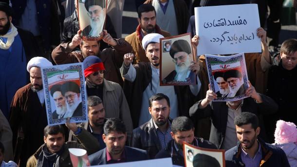 Das Regime brüllt zurück
