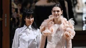 Will die Pariser Mode nur weiße Models?