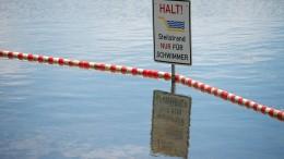 Zahl der Ertrunkenen in deutschen Gewässern gestiegen