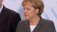 Merkel erwartet Ergebnisse von Weltfinanzgipfel