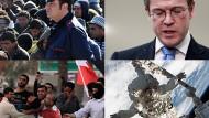 Tunesische Flüchtlinge, Plagiatvorwurf und ein Außeneinsatz im Weltraum