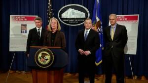 Vereinigte Staaten klagen russische Agenten an