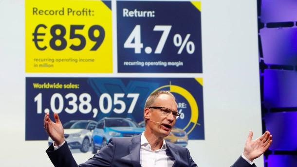 Opel lobt Fusionspläne