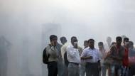 Dicke Luft: In den indischen Großstädten möchte man an vielen Tagen das Atmen am liebsten einstellen.