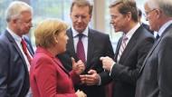 Union und FDP setzen Koalitionsverhandlungen fort