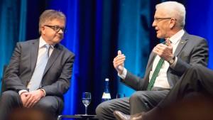 Kopf-an-Kopf-Rennen zwischen CDU und Grünen