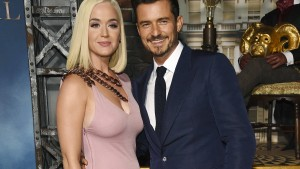 Katy Perry und Orlando Bloom singen Wahl-Song