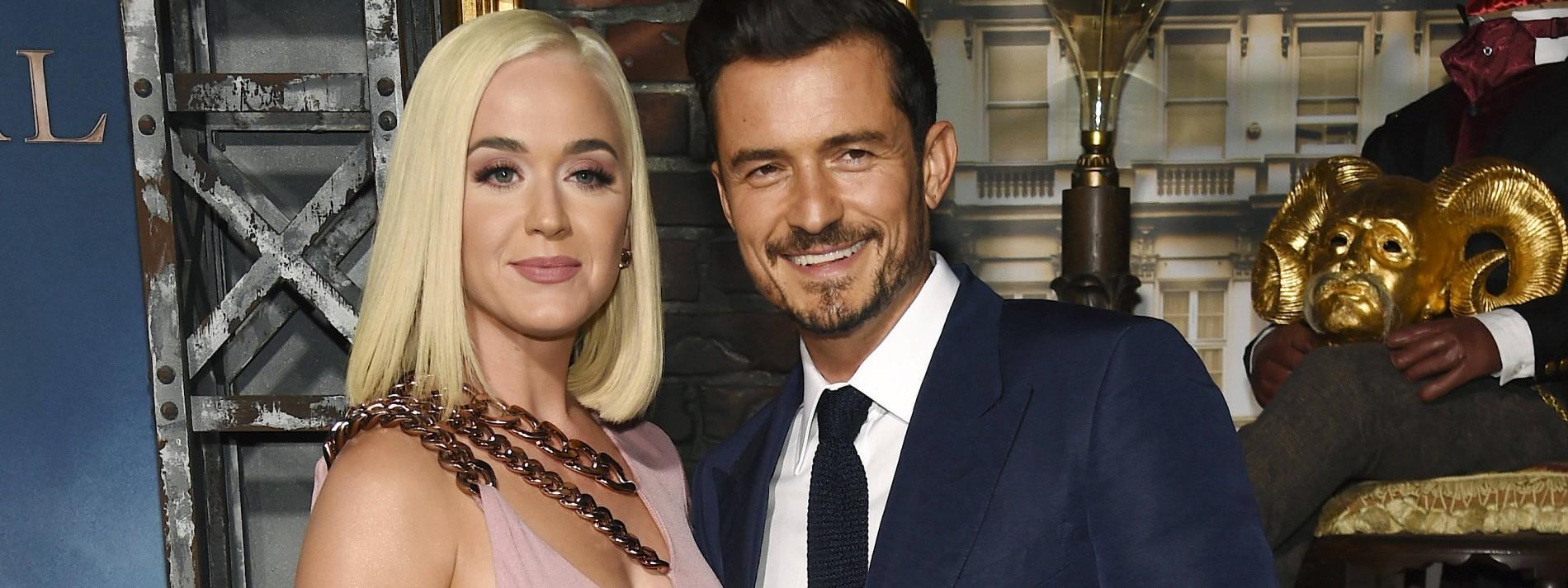 Katy Perry und Orlando Bloom singen Wahl-Song