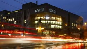 Die Schweiz aktiviert Notfallplan für ihre Börse