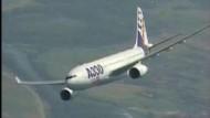 Airbus auf dem Weg nach Paris verschwunden