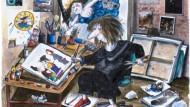 """Unordentlich inspiriert: Franziska Beckers Selbstbildnis """"Kölner Atelier"""" von 2001"""