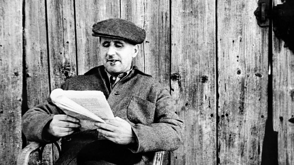 Bertolt Brecht im Mai 1948