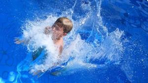 Freibadwetter für die letzte Ferienwoche
