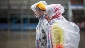 Schlechtes Wetter überschattet Rosenmontag