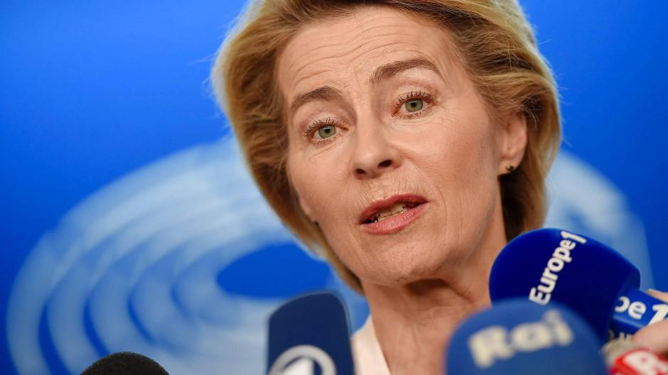 Ursula von der Leyen verkündete am Montag ihre Wunschbesetzung für die Kommission.