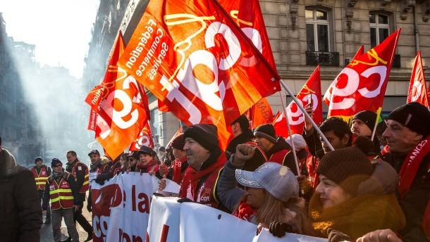 Rentenreform in Frankreich auf dem Weg