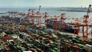 Frachthafen in Tokio: Japan setzte große Hoffnung auf das TPP-Freihandelsabkommen