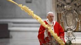 Papst ruft zu Mut in Corona-Krise auf