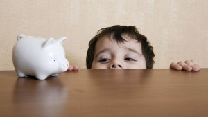 Wenn Kinder  zu Geld kommen