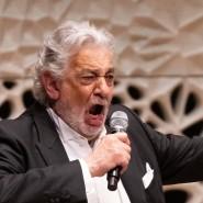 Plácido Domingo bei einem Auftritt in Hamburg Ende November