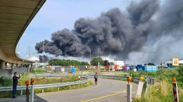 Explosion im Chemiepark Leverkusen