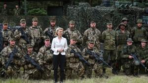 Bundeswehr soll sich für Stationierung in Litauen bereit halten
