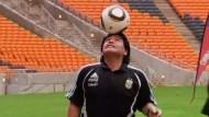 Maradona auf Tour
