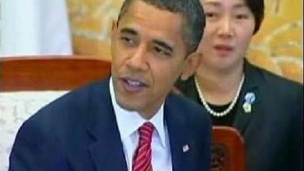 Obama warnt Nordkorea und Iran