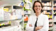 Cynthia Milz, Filialleiterin einer Apotheke im bayrischen Kulmbach und Mitglied im Geschäftsführenden ABDA-Vorstand