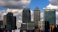 Der Finanzdistrikt in London: Einen alleinigen Hauptsitz der fusionierten Börse wird es hier wohl nicht geben.