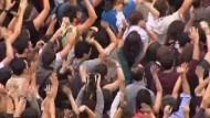 Spanier demonstrieren gegen Sparprogramm