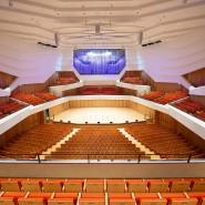 Vor leeren Reihen spielte die Dresdner Philharmonie zum Jubiläum auf - nur für die Kameras.