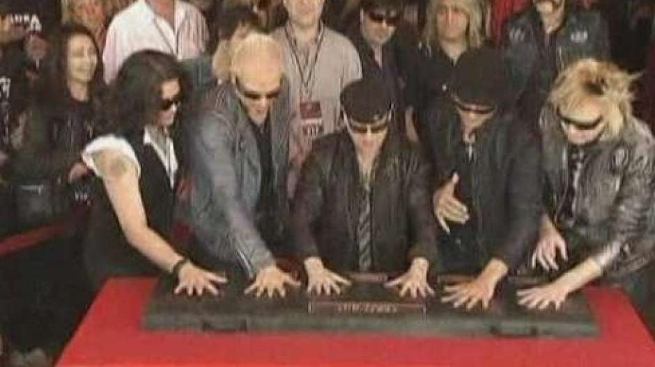 Die Scorpions im Rock-Olymp