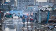 Schwer getroffen: Beira ist mit mehr als 500.000 Einwohnern die viertgrößte Stadt Moçambiques und ein wichtiger Hafen der Region.