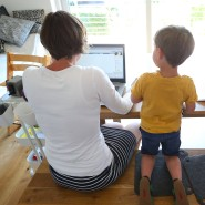 Anstrengend, aber manchmal auch schön: Einige Eltern empfanden das ständige Zusammensein mit ihren Kindern im Frühjahr als Bereicherung.