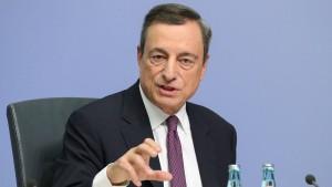Mario Draghi gibt Vollgas im Nebel