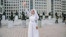 Weiße Kleider gegen staatliche Willkür