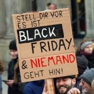 Ein Protestschild zum globalen Aktionstag für mehr Klimaschutz 2019.
