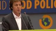 Paul McCartney: Esst weniger Fleisch