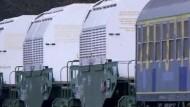 Castor-Transport erreicht Gorleben