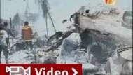 Mindestens 147 Tote bei Flugzeugabsturz auf Sumatra