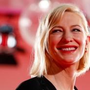 Endlich wieder unter Leuten: Cate Blanchett in Venedig