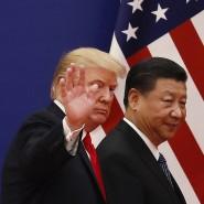 Donald Trump und Xi Jinping im November 2017