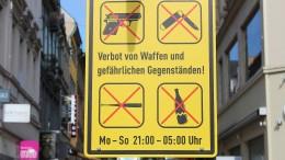 Keine Waffen nach 21 Uhr