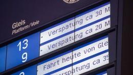 Bahnverkehr zwischen Frankfurt und Mannheim normalisiert sich wieder